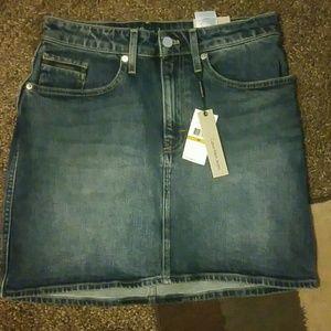 Calvin Klein Jean Skirt